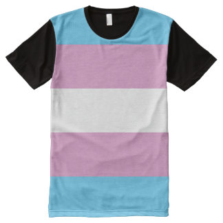 Trans Pride All-Over-Print T-Shirt