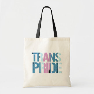 Trans Pride - Painted - -  Tote Bag