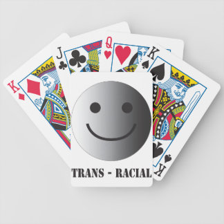 trans race bicycle playing cards