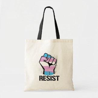 Trans Resistance - Resist - -  Tote Bag