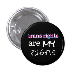 trans rights are my rights button