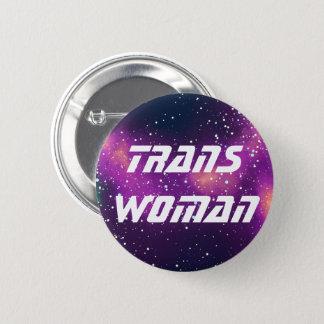 Trans Woman Customizable Galaxy Identity 2 Inch Round Button