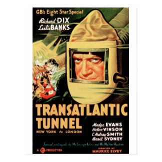 Transatlantic Tunnel Postcard