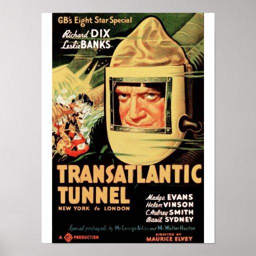 Transatlantic Tunnel Posters