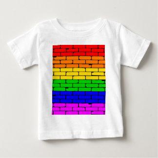 Transexual Rainbow Wall Baby T-Shirt