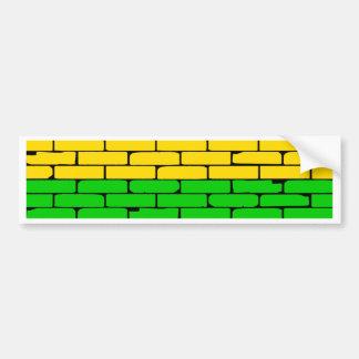 Transexual Rainbow Wall Bumper Sticker