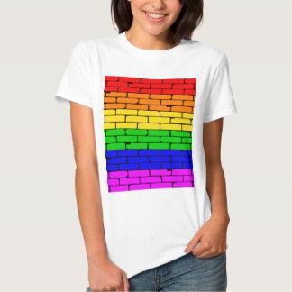 Transexual Rainbow Wall Tee Shirt
