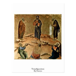 Transfiguration By Duccio Postcard