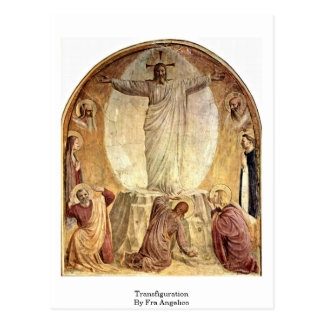 Transfiguration By Fra Angelico Postcard