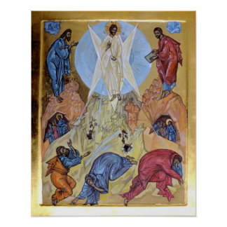 Transfiguration of Christ Poster