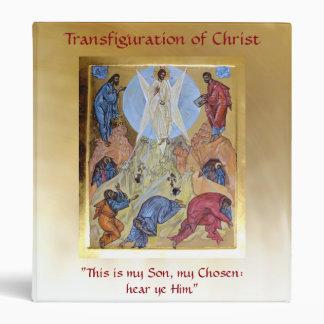 Transfiguration of Christ Vinyl Binder