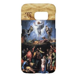 TRANSFIGURATION OF JESUS monogram Samsung Galaxy S7 Case