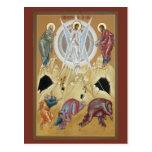 Transfiguration of the Lord Prayer Card Postcard