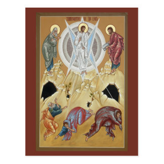 Transfiguration of the Lord Prayer Card Postcard