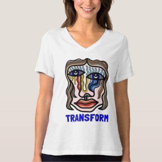 """Transform"" Women's Relaxed Fit V-Neck T-Shirt"