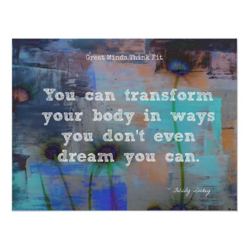 Transform Your Body! Poster
