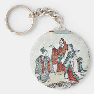 Transformation of three laughs by Kubo,Shunman Key Chains