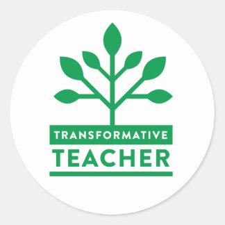 Transformative Teacher Sticker