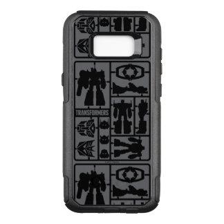 Transformers | Autobot Model Kit OtterBox Commuter Samsung Galaxy S8+ Case