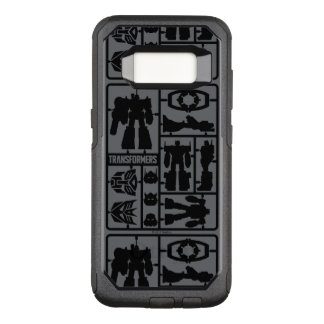 Transformers | Autobot Model Kit OtterBox Commuter Samsung Galaxy S8 Case