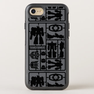 Transformers | Autobot Model Kit OtterBox Symmetry iPhone 8/7 Case