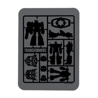 Transformers | Autobot Model Kit Rectangular Photo Magnet