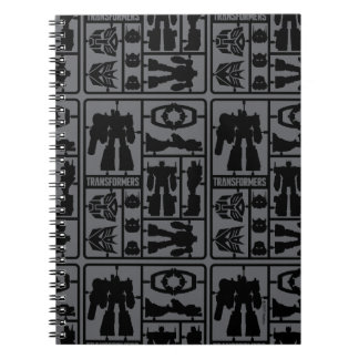 Transformers | Autobot Model Kit Spiral Notebook