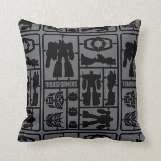 Transformers | Autobot Model Kit Throw Pillow