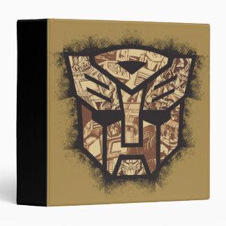 Transformers   Autobot Shield 3 Ring Binder