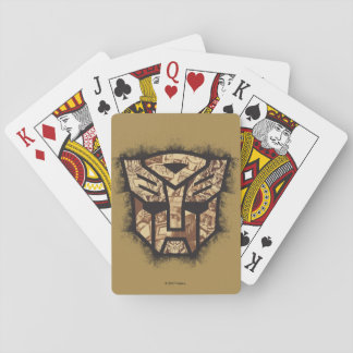 Transformers | Autobot Shield Playing Cards