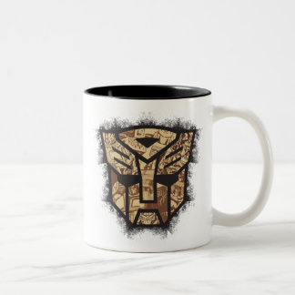 Transformers | Autobot Shield Two-Tone Coffee Mug