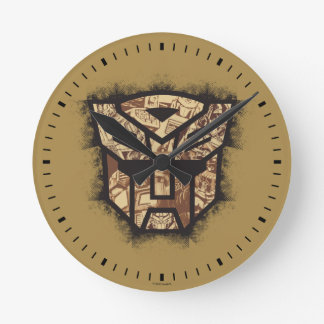 Transformers   Autobot Shield Wallclocks