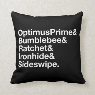 Transformers | Autobots Ampersand Throw Pillow