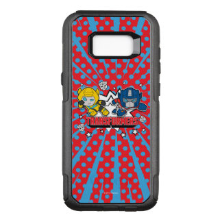 Transformers | Autobots Graphic OtterBox Commuter Samsung Galaxy S8+ Case