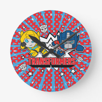 Transformers | Autobots Graphic Round Clock