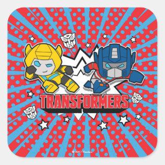 Transformers | Autobots Graphic Square Sticker