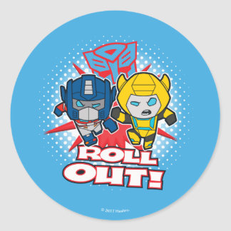 Transformers | Autobots Roll Out Classic Round Sticker