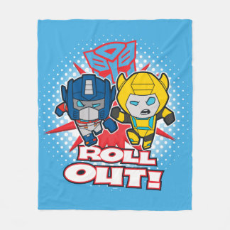Transformers | Autobots Roll Out Fleece Blanket