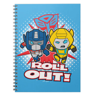 Transformers | Autobots Roll Out Notebook