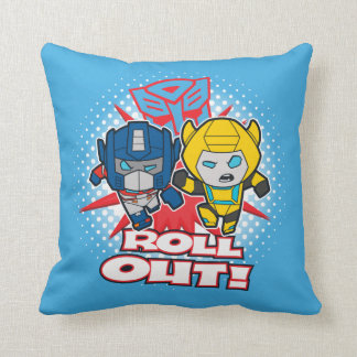 Transformers | Autobots Roll Out Throw Pillow