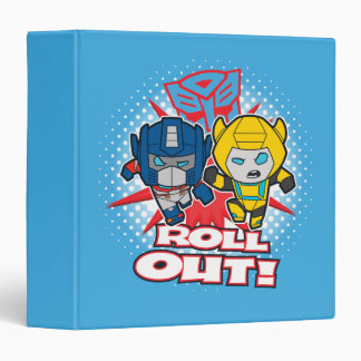 Transformers   Autobots Roll Out Vinyl Binder
