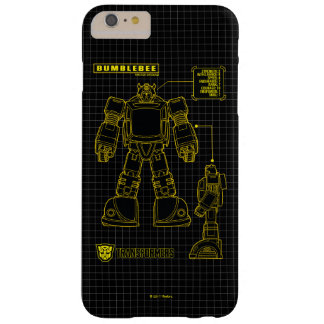 Transformers | Bumblebee Schematic Barely There iPhone 6 Plus Case