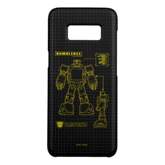 Transformers | Bumblebee Schematic Case-Mate Samsung Galaxy S8 Case