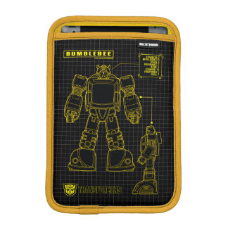 Transformers | Bumblebee Schematic iPad Mini Sleeve