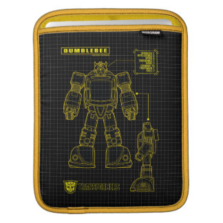 Transformers | Bumblebee Schematic iPad Sleeve