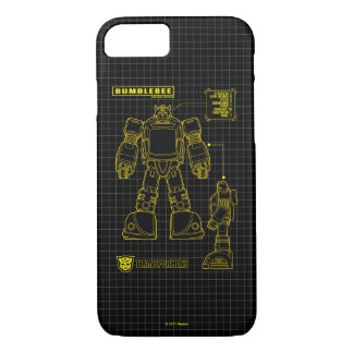 Transformers | Bumblebee Schematic iPhone 8/7 Case