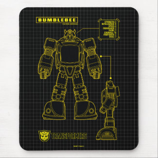 Transformers | Bumblebee Schematic Mouse Pad
