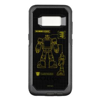 Transformers | Bumblebee Schematic OtterBox Commuter Samsung Galaxy S8 Case