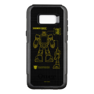 Transformers   Bumblebee Schematic OtterBox Commuter Samsung Galaxy S8+ Case