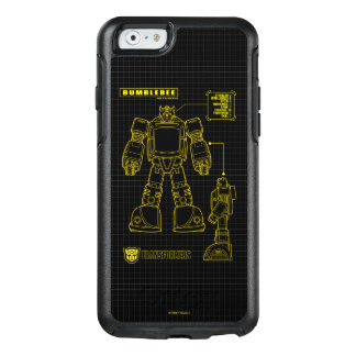 Transformers | Bumblebee Schematic OtterBox iPhone 6/6s Case